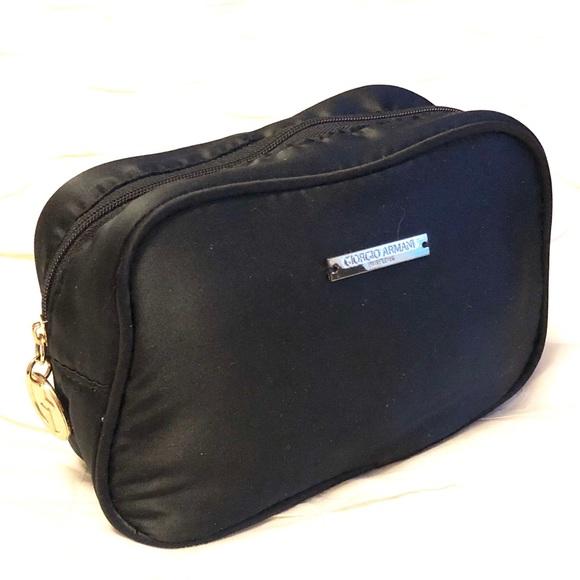 3a53b609d331 Giorgio Armani Parfums makeup bag